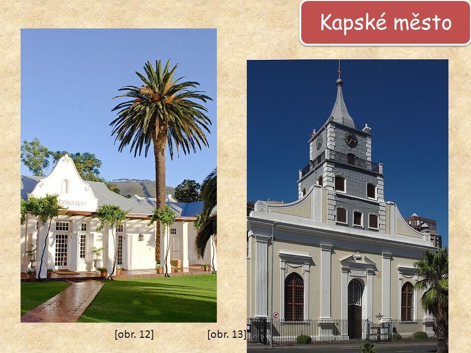 Kapské město [obr. 12] [obr. 13]
